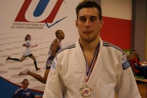 Benoît COLIN champion de France Universitaire 2015