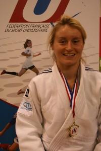 Clémentine LOUCHEZ Championne de France Universitaire 2015