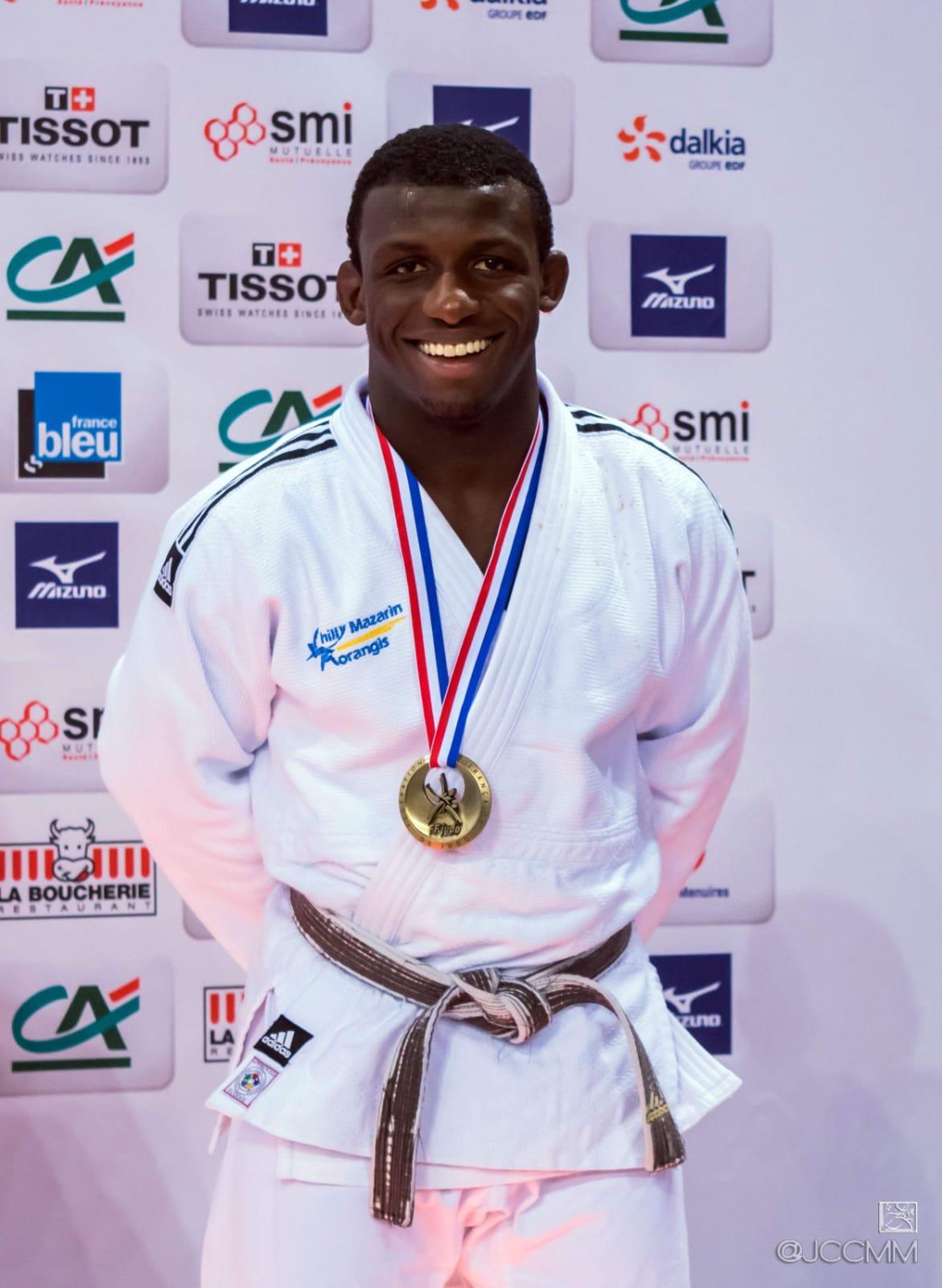 Alpha DJALO 3ème au Championnat de France D1 2019