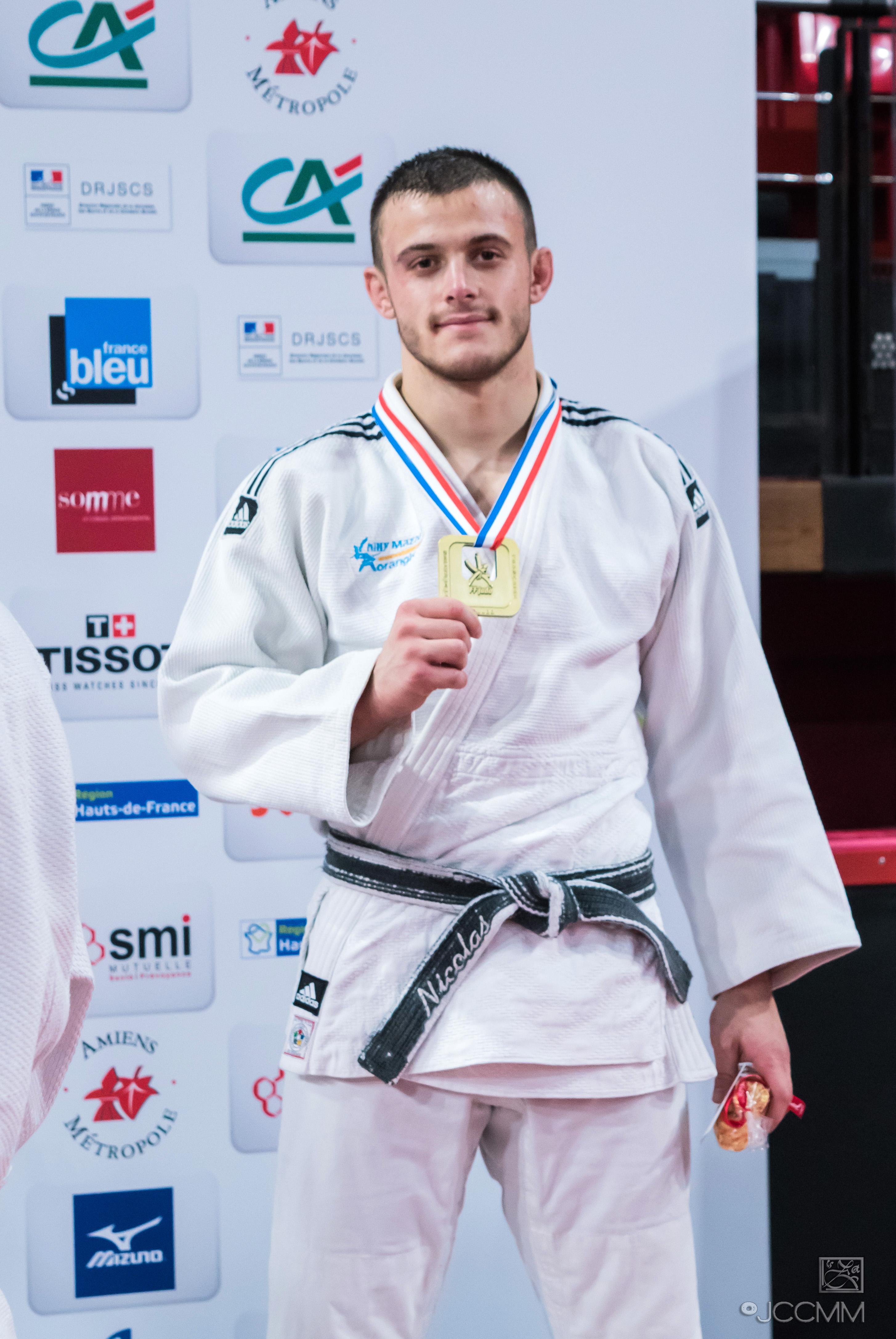 Nicolas Chilard 3ème au Championnat de France